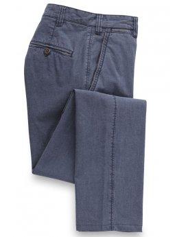 Pantalon bleu en Motta