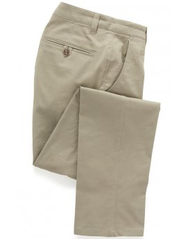 Pantalon chino ajusté coton stretch couleur pierre Miami