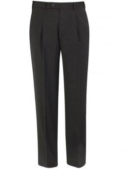 Pantalon de costume noir Imola