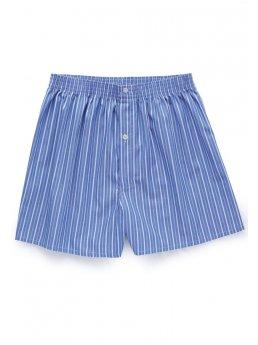 Shorts de boxeur de popeline de coton de Morpeth