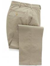 Pantalon chino classique coton  couleur pierre Denver