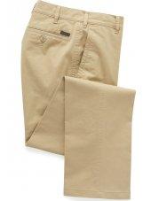 Pantalon chino classique coton sable Lizard