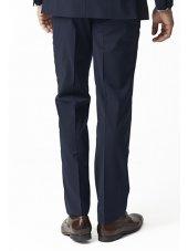 Pantalon de costume bleu marine Imola