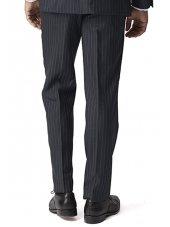 Pantalon de costume gris à rayures Epsom