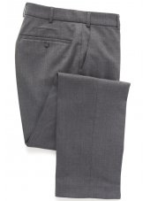 Pantalon en flanelle Gris Clair Olney