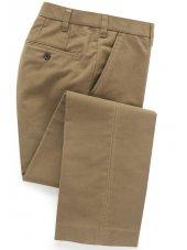 Pantalon en moleskine couleur pierre Kibworth