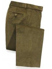 Pantalon en velours Olive côtelé Tiverton