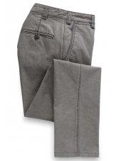 Pantalon gris acier en Motta