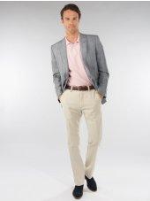 Pantalon slim Nemi coton lin