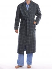 Robe de chambre de laine de Grosvenor
