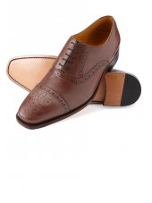 Semi-Brogue bronzage antique de Windsor
