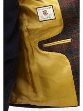 Veste à carreaux en pure laine vierge Fylingdales