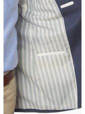 Veste ajustée à carreaux Butt
