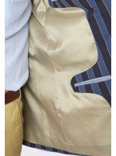 Veste classique à rayures Hateley