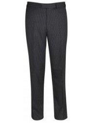 Epsom pantalon de costume gris rayé