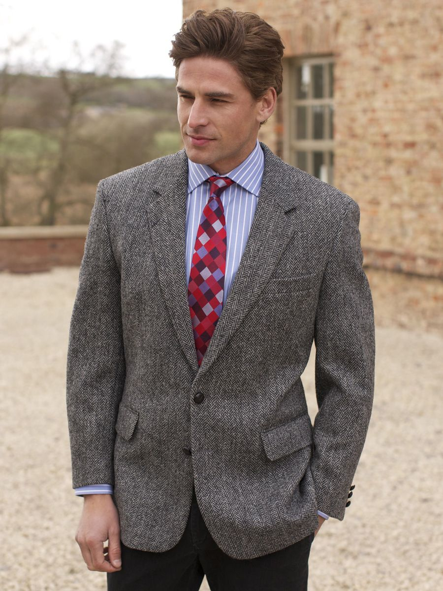 Harris tweed veste